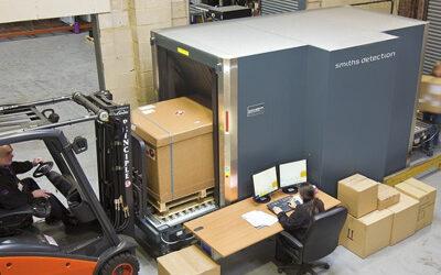Csomagröntgenek gyárak, raktárak és szállítmányozók részére