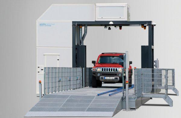 CIP-300 járműátvizsgáló röntgenberendezés