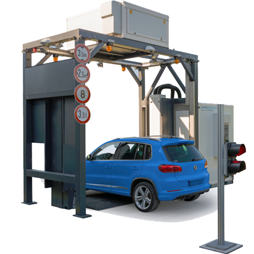 CIP-300 Compact járműátvizsgáló röntgenberendezés