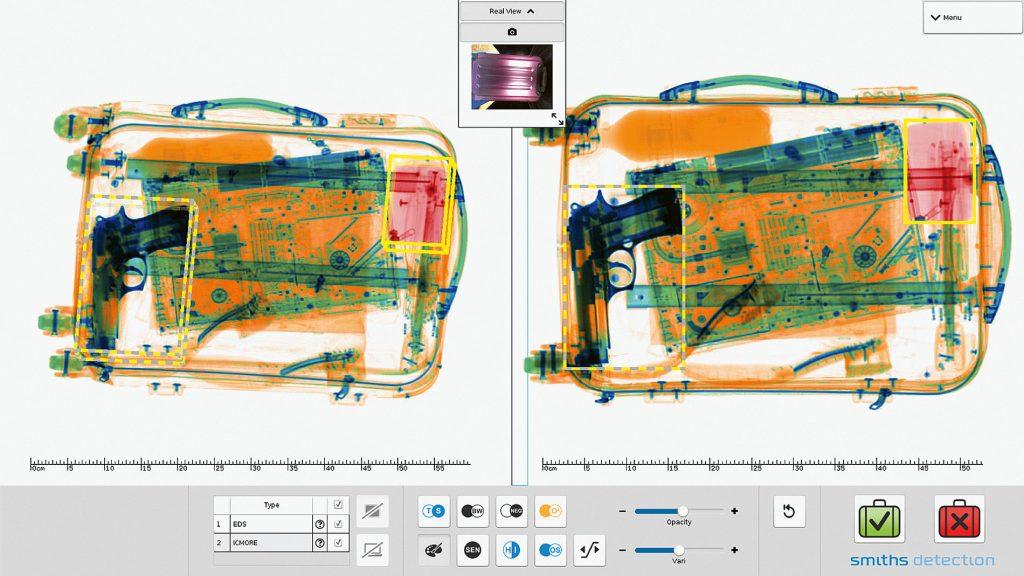 XCT csomagvizsgáló röntgenberendezés